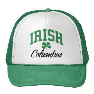Columbus Irish Trucker Hat