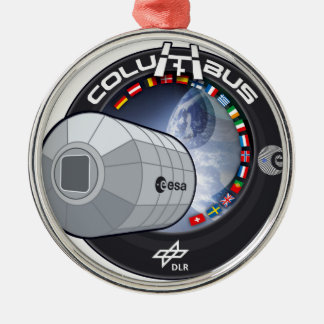 Columbus ISS Module Christmas Ornament