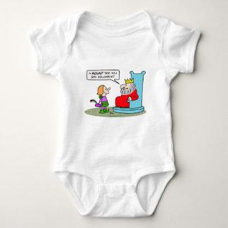 columbus king round trip baby bodysuit