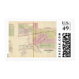 Columbus, Nebraska Stamps