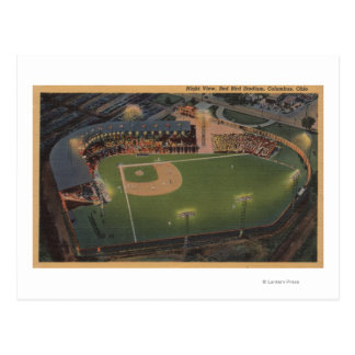 Columbus, OH - Aerial of Red Bird Baseball Postcard