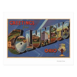 Columbus, Ohio - escenas grandes de la letra Postal