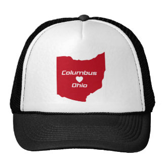 Columbus Ohio Heart T-Shirt U.S. Custom Ink Trucker Hat