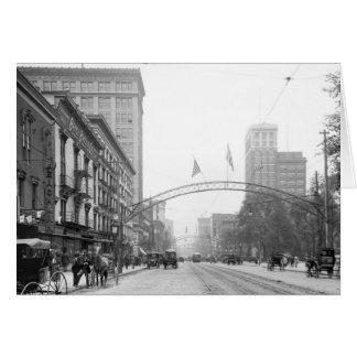 Columbus, Ohio - High Street 1910 Card