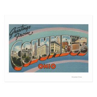 Columbus, Ohio - Large Letter Scenes 2 Post Cards