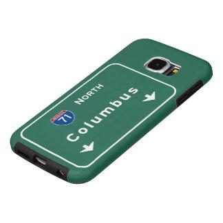 Columbus Ohio oh Interstate Highway Freeway Road : Samsung Galaxy S6 Case