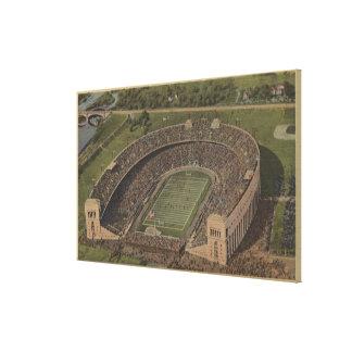 Columbus, Ohio - Ohio State University Stretched Canvas Prints