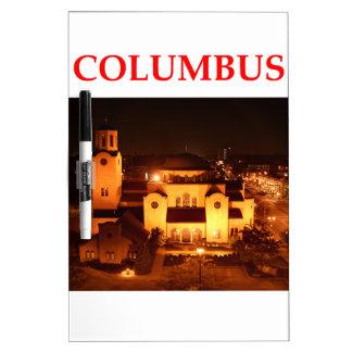 Columbus Ohio Pizarras Blancas