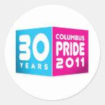 Columbus Ohio Pride 2011 Sticker