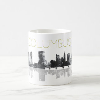 COLUMBUS, OHIO SKYLINE COFFEE MUG