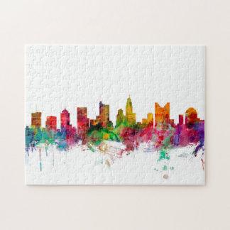 Columbus Ohio Skyline Jigsaw Puzzle