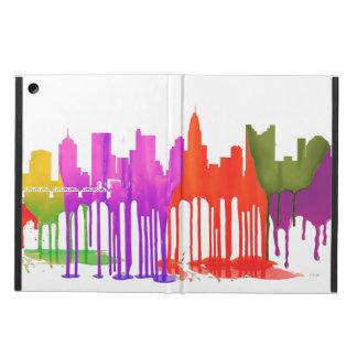 COLUMBUS, OHIO SKYLINE PUDDLES - iPad AIR COVER