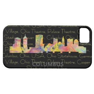 COLUMBUS, OHIO SKYLINE WB1 - iPhone SE/5/5s CASE