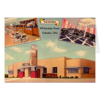 Columbus, Ohio The Riviera Greeting Card