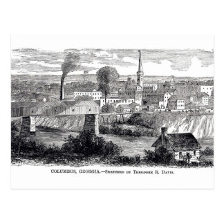 Columbus, postal 1868 del GA