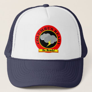Columbus Ready. Be Ready for disasters. Trucker Hat