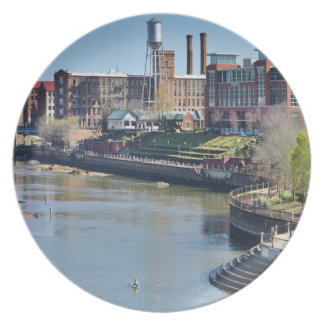 Columbus River Front Photo Plate