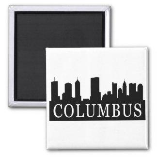 Columbus Skyline Magnet
