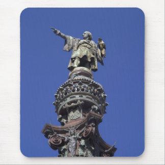 Columbus statue, Barcelona Mousepad