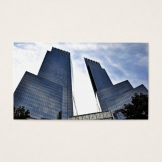 Columbus Towers Central Park South Business Card
