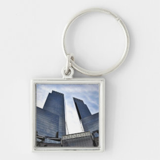 Columbus Towers Central Park South Keychain