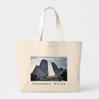 Columbus Towers Central Park South Large Tote Bag