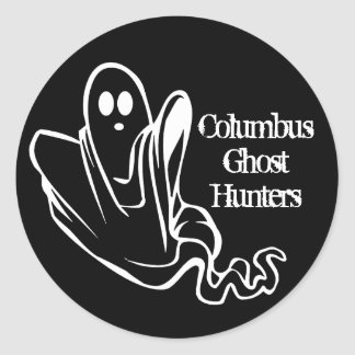 ColumbusGhostHunters Stickers blk