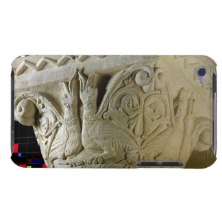 Column capital bearing symmetrically arranged grot barely there iPod case
