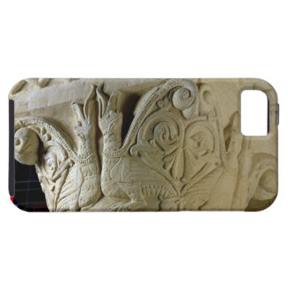 Column capital bearing symmetrically arranged grot iPhone SE/5/5s case