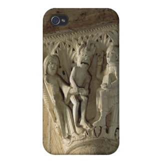 Column Capital, depicting St Benedict performing a Covers For iPhone 4
