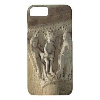Column Capital, depicting St Benedict performing a iPhone 8/7 Case