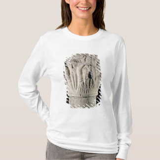 Column capital with a man with raised arms T-Shirt