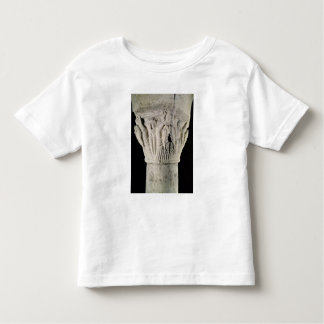 Column capital with a man with raised arms toddler t-shirt