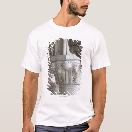 Column detail of the Doges' Palace Venice Italy T-Shirt