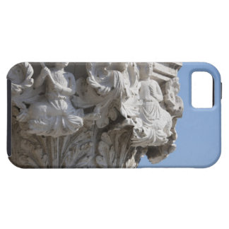 Column detail on the Doges' Palace Venice Italy iPhone SE/5/5s Case