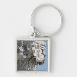Column detail on the Doges' Palace Venice Italy Keychain