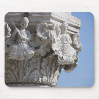 Column detail on the Doges' Palace Venice Italy Mouse Pad