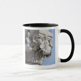 Column detail on the Doges' Palace Venice Italy Mug