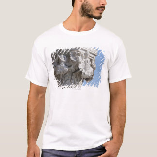 Column detail on the Doges' Palace Venice Italy T-Shirt