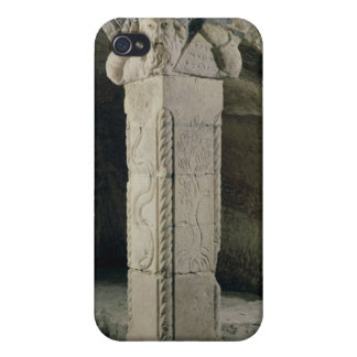 Column from the crypt, with the head of Moses iPhone 4 Cases