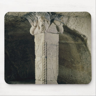 Column from the crypt, with the head of Moses Mouse Pad
