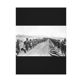 Column of 6th and 16th Infty_War Image Canvas Print