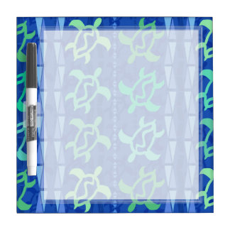 Column of Turtles Small Dry Erase Board
