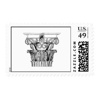 Column Postage Stamp