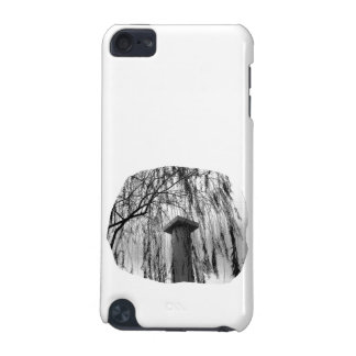 Column Under Weeping tree cutout iPod Touch (5th Generation) Case