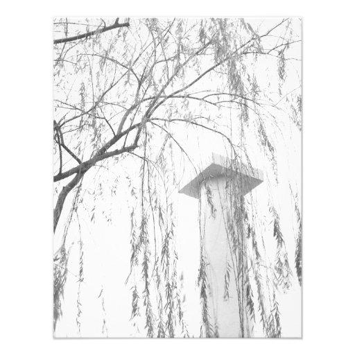 Column Under Weeping Tree High Dynamic range Custom Announcement