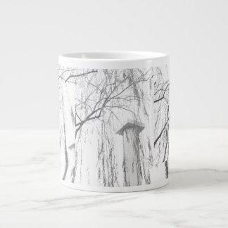 Column Under Weeping Tree High Dynamic range Large Coffee Mug