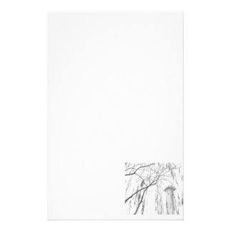 Column Under Weeping Tree High Dynamic range Stationery Paper