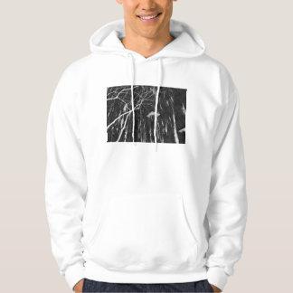 Column Under Weeping Tree Reverse Negative Sweatshirt