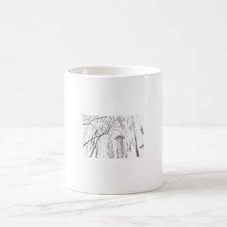 Columna bajo alto rango dinámico del árbol que llo taza